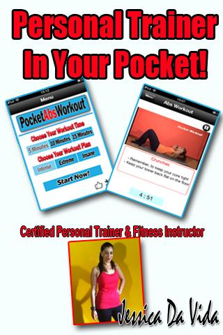Pocket Abs Daily Workout App