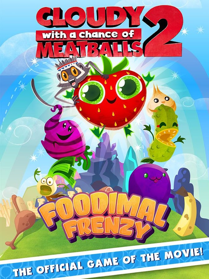 Cloudy with Meatballs 2 - screenshot