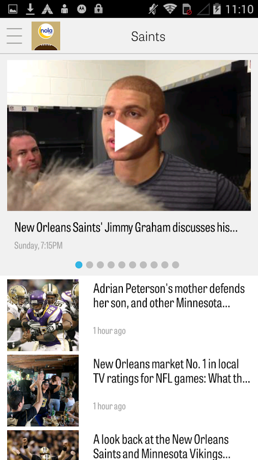 NOLA.com: Saints News- screenshot