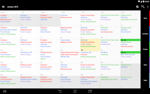 Business Calendar 2 - screenshot thumbnail
