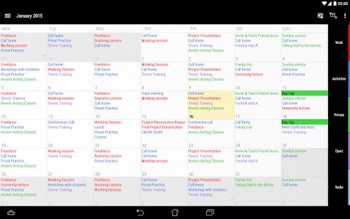 Business Calendar 2 - screenshot thumbnail