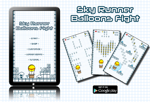 Sky Runner Balloons Fight