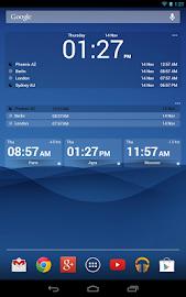 Bob's World Clock Widget Screenshot 9