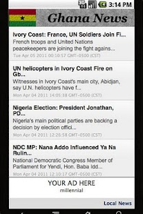 Ghana News Daily - screenshot thumbnail
