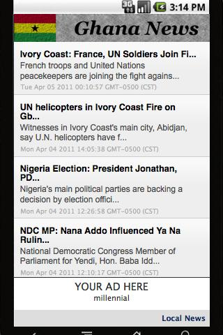 Ghana News Daily - screenshot