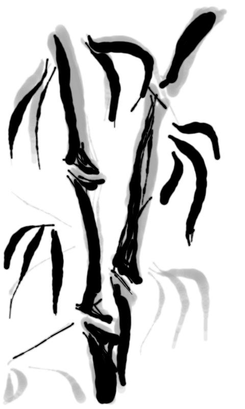 Sumi-e painting- screenshot