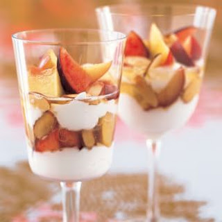 Yogurt Parfaits with Fresh Fruit and Honey