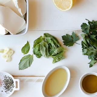 Creamy Vegan Herb Salad Dressing