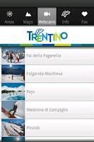 Screenshot of Ski Trentino