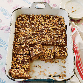 Peanut Butter-Chocolate-Oatmeal Cereal Bars