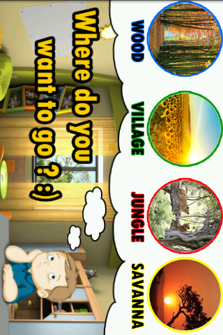 Word of animal EDUCATION - screenshot