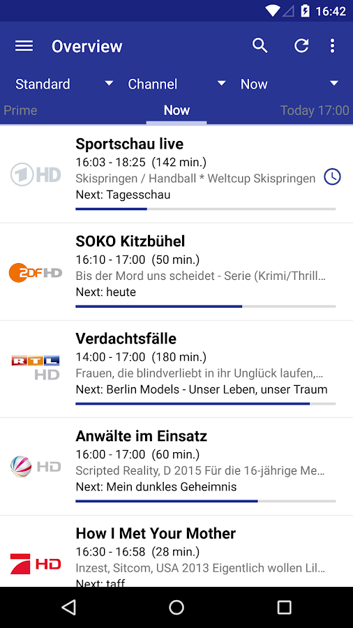 Dream Epg Premium Android Apps On Google Play