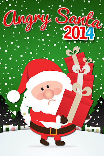 Angry Santa Claus Christmas.