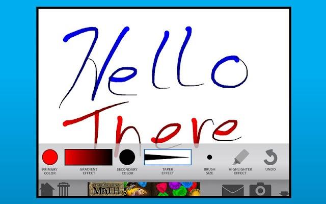 Classroom Tools- My Whiteboard - screenshot