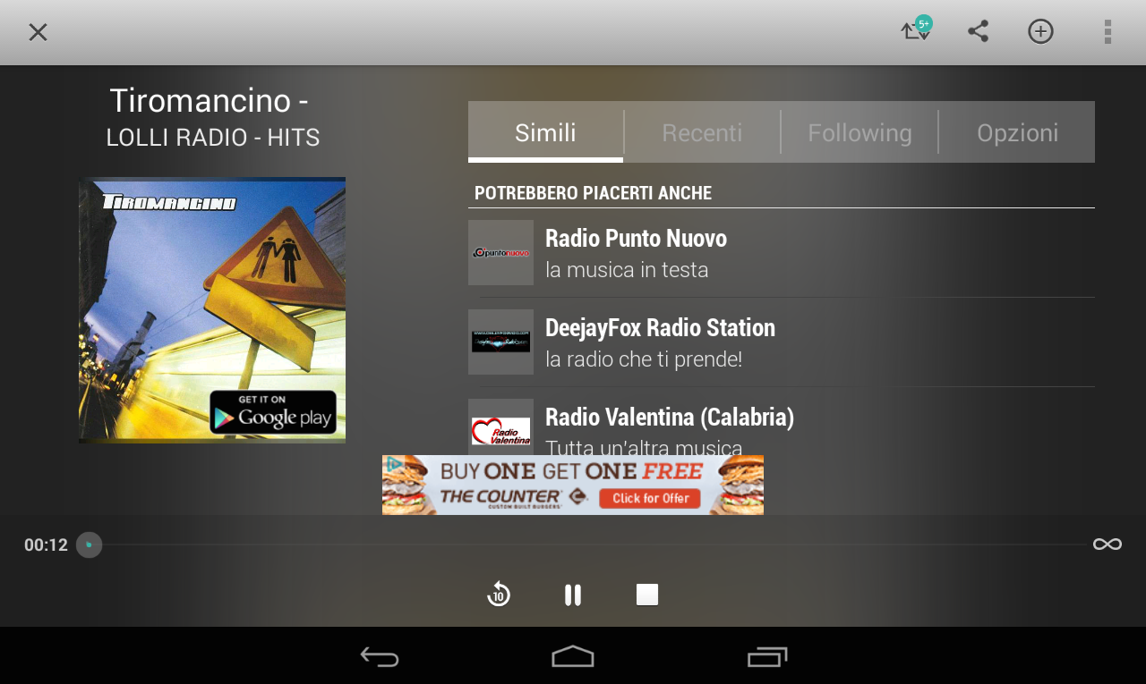 TuneIn Radio- screenshot