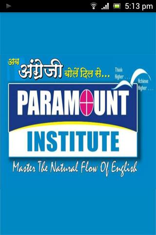Paramount Institute