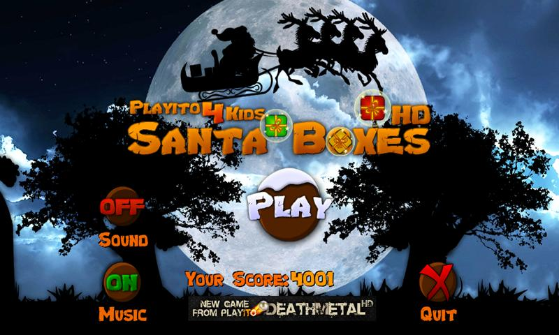Playito4Kids: Santa Boxes FREE- screenshot