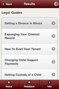 Illinois Legal Aid App- screenshot thumbnail