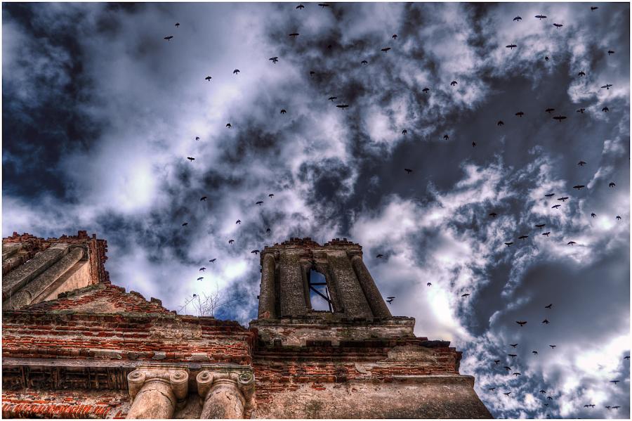 Schitul Barbu Belu by Liviu Suciu - Buildings & Architecture Public & Historical ( sky, crowds, colors, ruins,  )