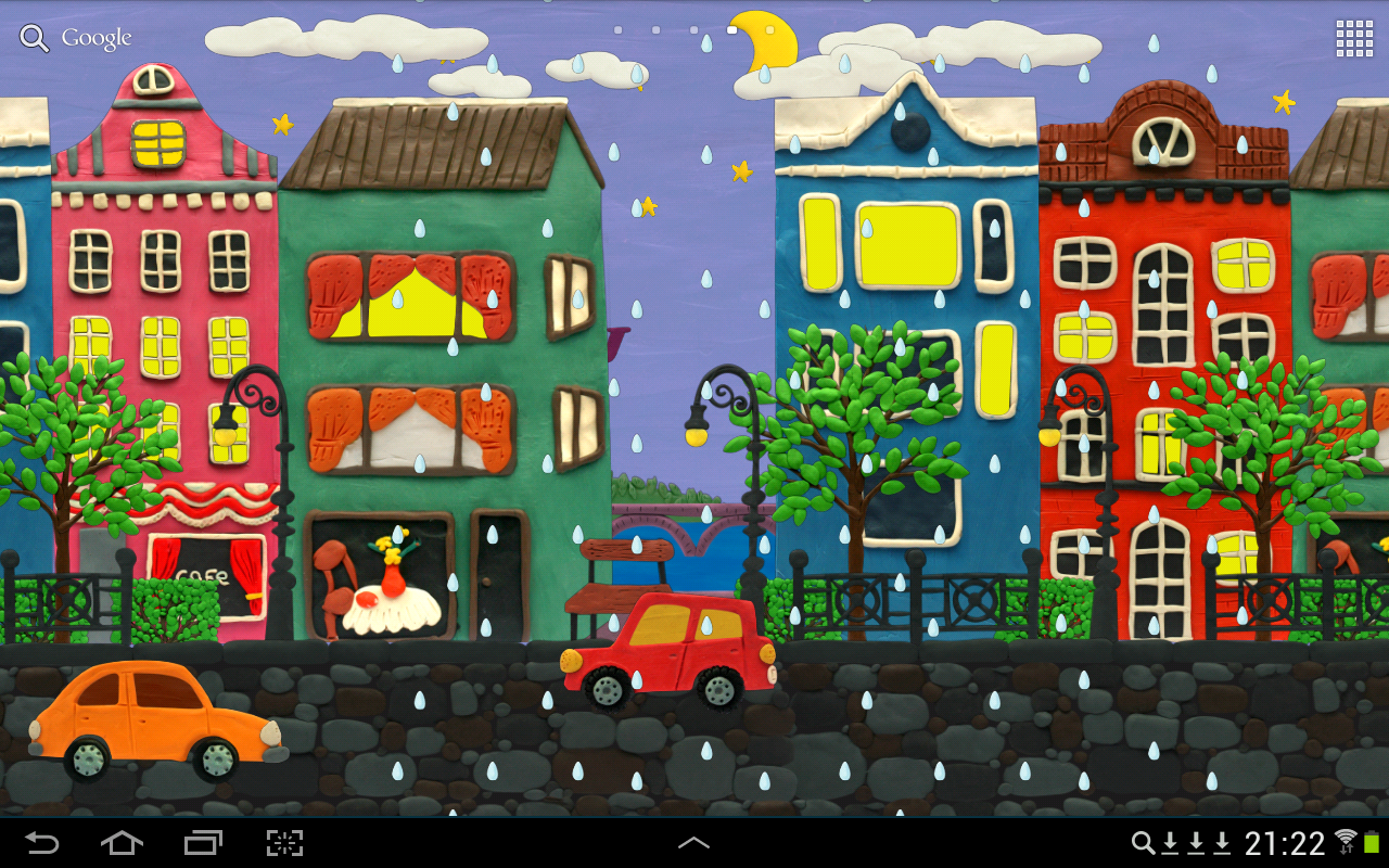 Town Live wallpaper HD- screenshot