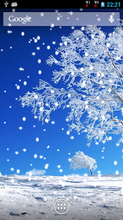 Snow Fall Live Wallpaper - screenshot thumbnail