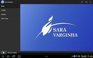 Screenshot of Rádio Sara Varginha