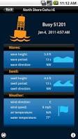Screenshot of Swell Info Surf Forecast