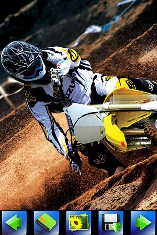Off-road Motorcycle wallpaper - screenshot