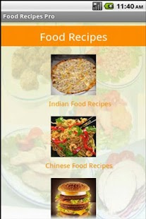 Food Recipes - screenshot thumbnail