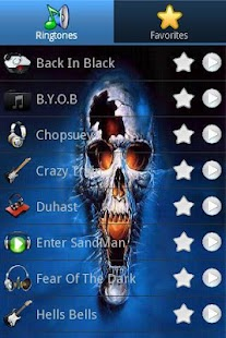 Heavy Metal Ringtones - screenshot thumbnail