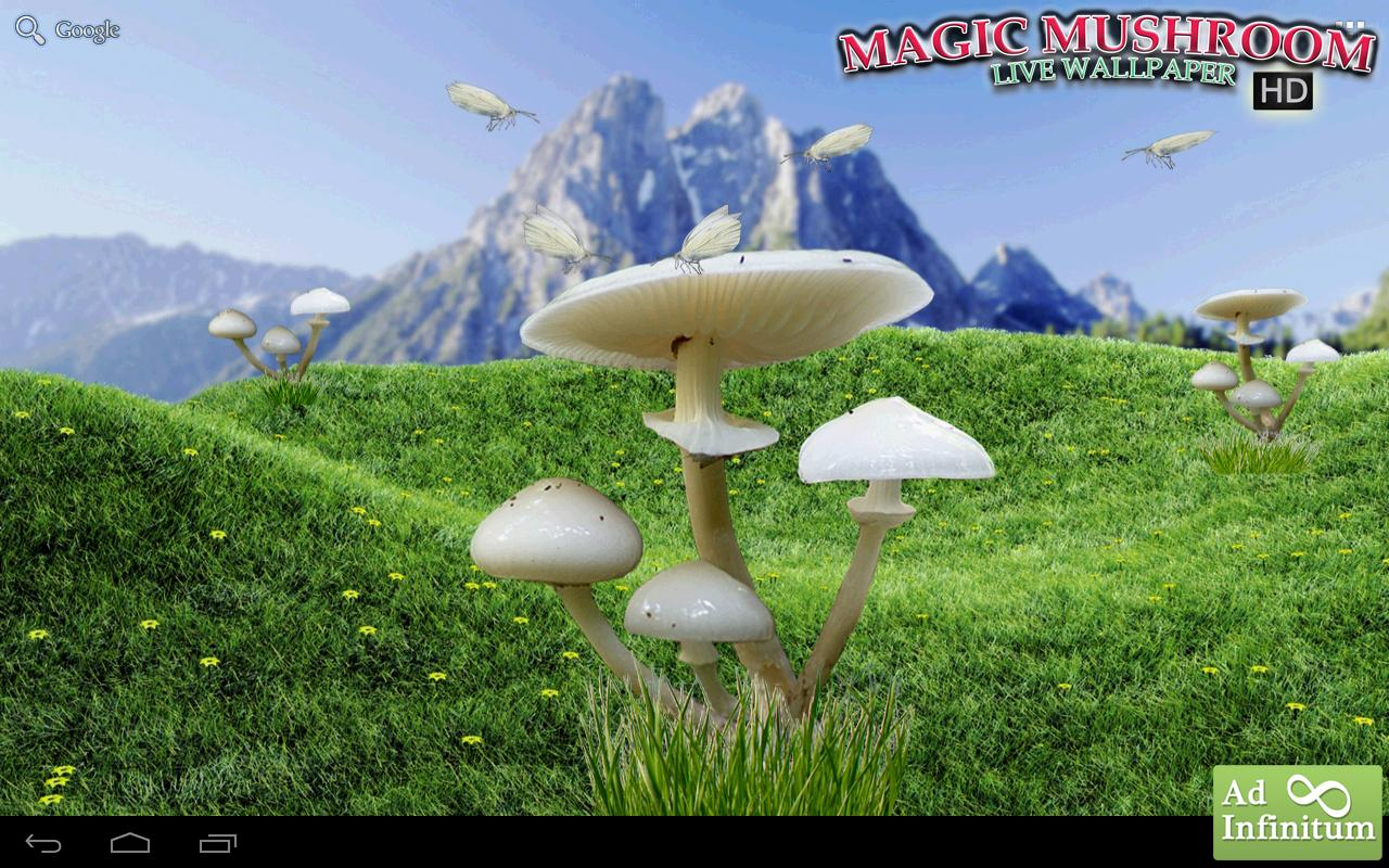 Magic Mushrooms LWP HD - Android Apps on Google Play