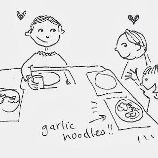 Garlic Noodles (aka Pasta Aglio e Olio)