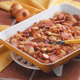 Hearty Maple Beans.