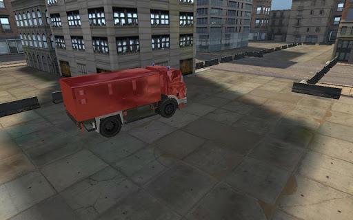 消防レスキュー駐車場3DのHD