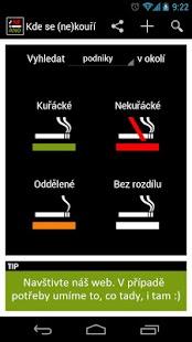 Kde se (ne)kouří - screenshot thumbnail