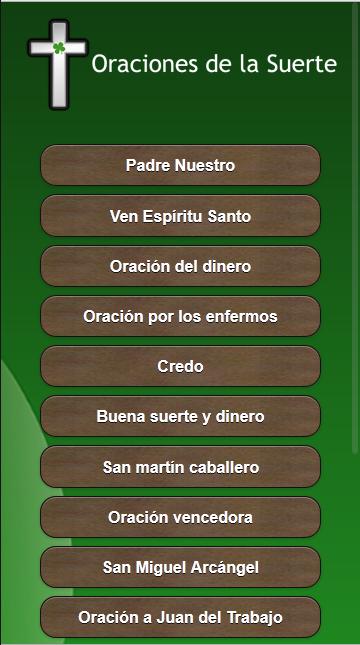 Oraciones de la buena suerte android apps on google play - Para la buena suerte ...