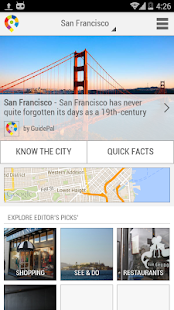 San Francisco City Guide - screenshot thumbnail