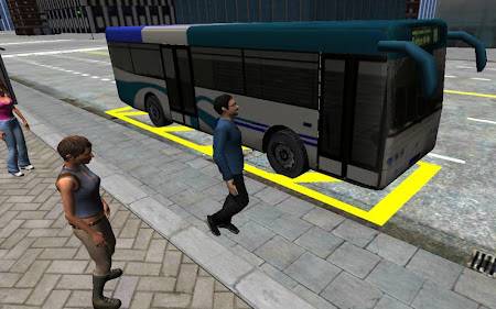 3D City driving - Bus Parking 1.2 screenshot 639140