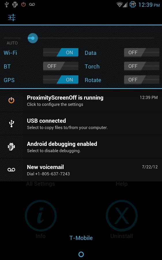 Proximity Screen Off Lite- screenshot