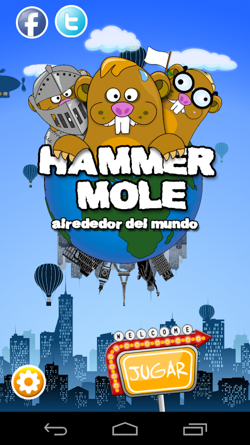 HammerMole- screenshot