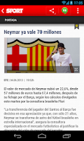 Screenshot of SPORT.es
