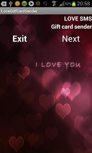 LOVE SMS GIFT CARD SENDER