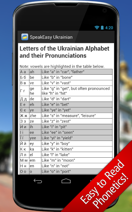 SpeakEasy Ukrainian ~ Phrases - screenshot