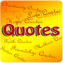 Images with Quotes icon