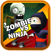 3D Zombie VS Ninja Subway Run