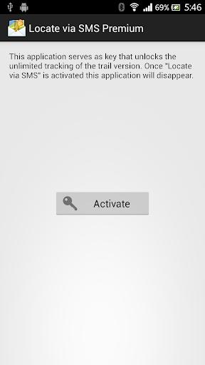 Locate via SMS Premium