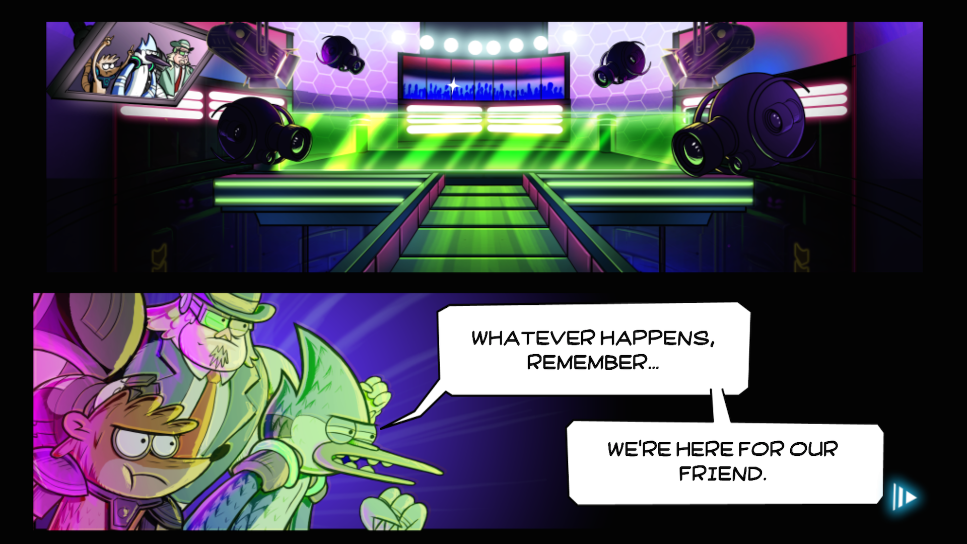 Grudgeball - Regular Show screenshot #12