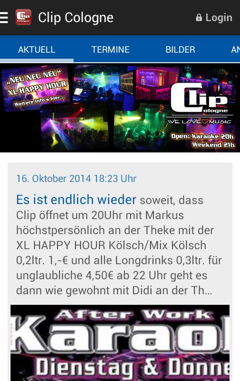 Clip Cologne- screenshot