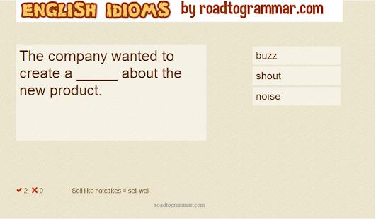 English Idioms Galore- screenshot thumbnail