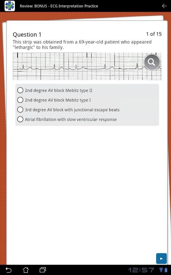 Paramedic Review Plus™- screenshot